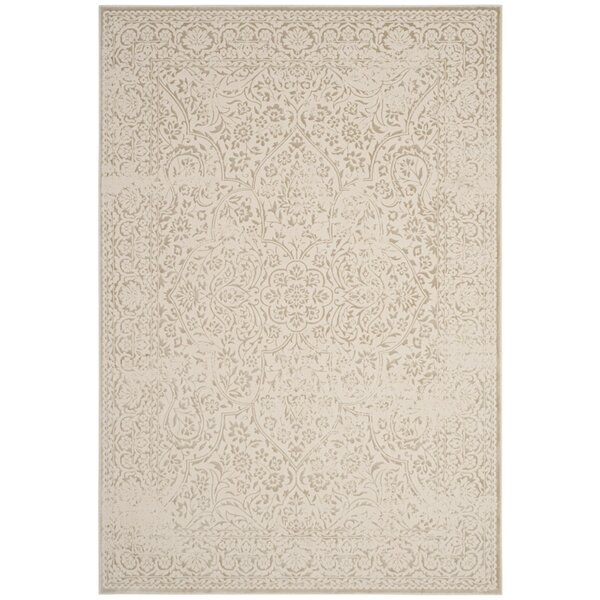 Forestburgh Beige/Ivory Area Rug by Ophelia & Co.
