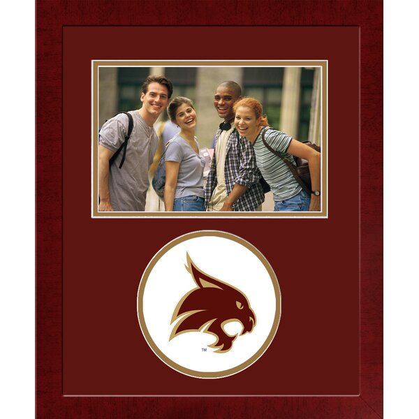 NCAA Texas State Bobcats Spirit Picture Frame by Campus Images