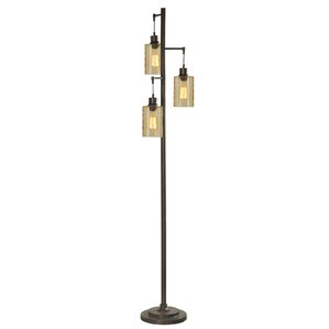 Industrial floor lamps you39ll love wayfair for Tree floor lamp canada