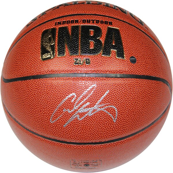 NBA Carmelo Anthony Signed I/O Basketball by Steiner Sports