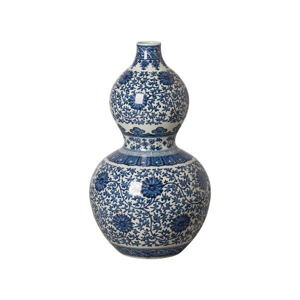 Ayler Gourd Floor Vase by Canora Grey