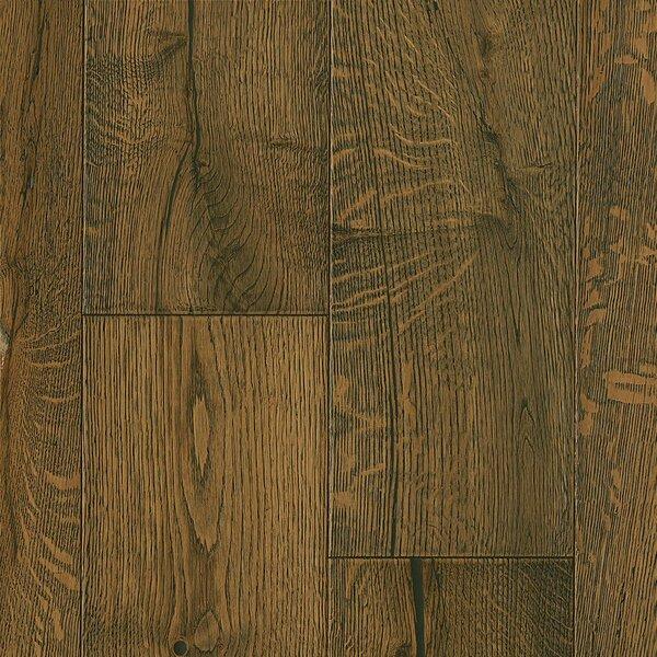 7-1/2 Engineered Oak Hardwood Flooring in Deep Etched BlackedEart by Armstrong Flooring