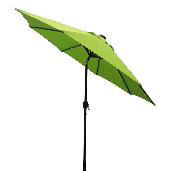 Kittrell Solar 9' Market Umbrella By Bay Isle Home by Bay Isle Home Wonderful