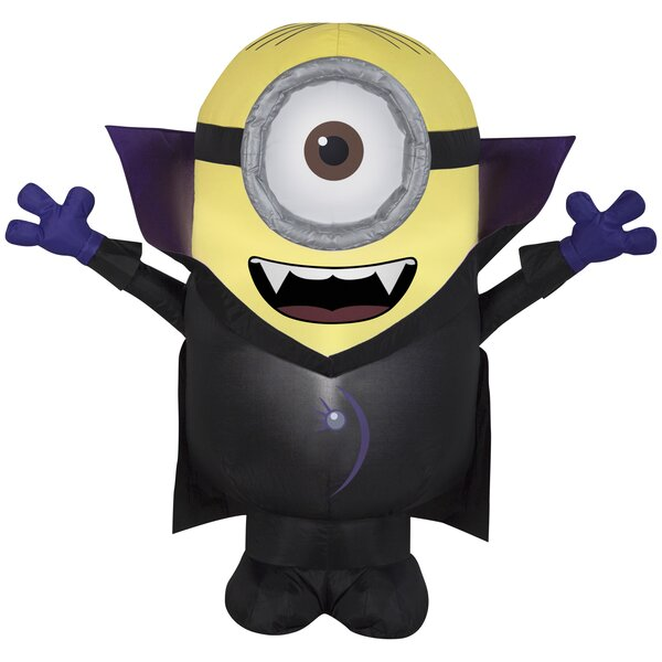 Gone Batty Minion SM Universal Inflatable by The Holiday Aisle
