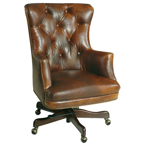 Parthenon Leather Executive Chair by Hooker Furniture