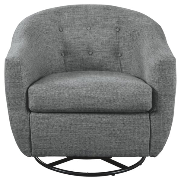 Nayla Swivel Barrel Chair by Latitude Run Latitude Run