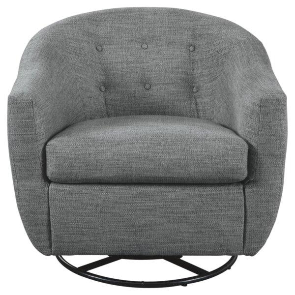 Nayla Swivel Barrel Chair by Latitude Run Latitude Run