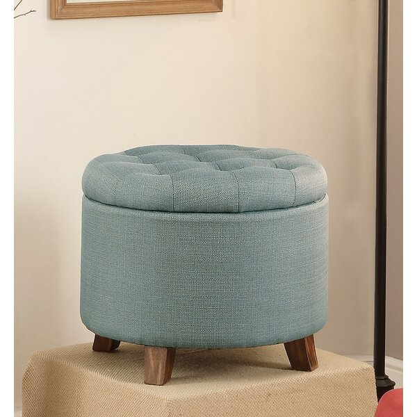 Tufted Storage Ottoman by Infini Furnishings