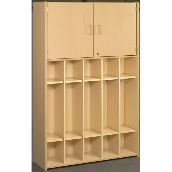 2000 Series 4 Tier 5 Wide Coat Locker by TotMate