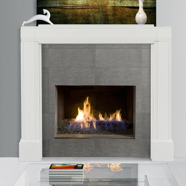 Emory Adjustable Fireplace Mantel Surround by Pearl Mantels