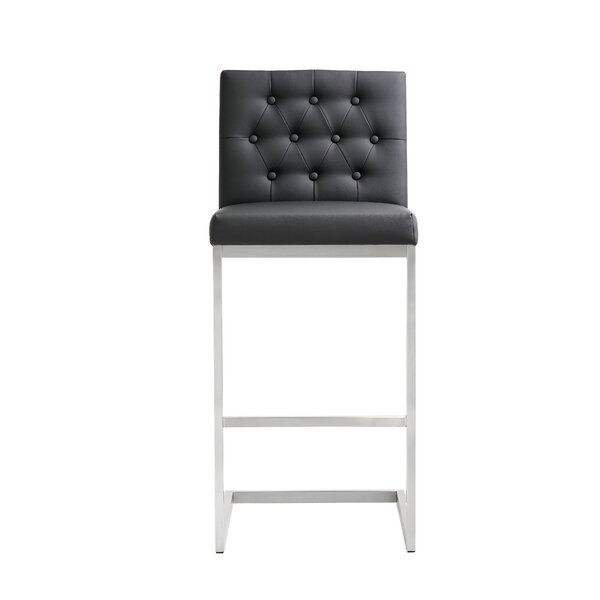 Borough Park 30 Square Bar Stool (Set of 2) by Orren Ellis