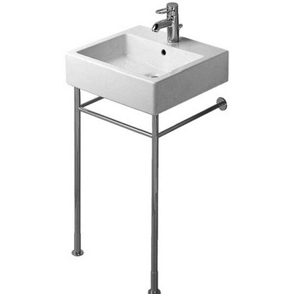 Vero Metal 26 Console Bathroom Sink by Duravit