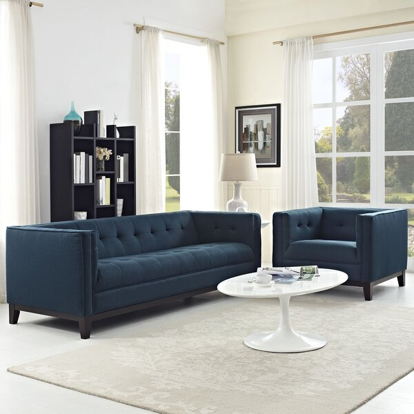 Tennille 2 Piece Living Room Set by Ivy Bronx