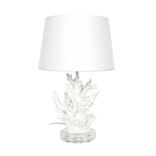 Reviews Coral 19.29 Table Lamp By DEI