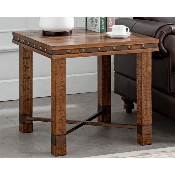 Seavey End Table by Gracie Oaks