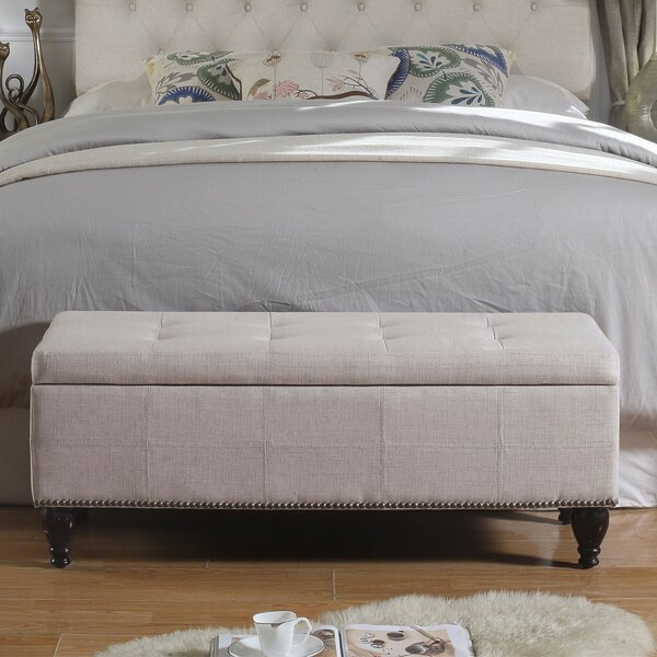 Darrah Upholstered Storage Bench by Charlton Home