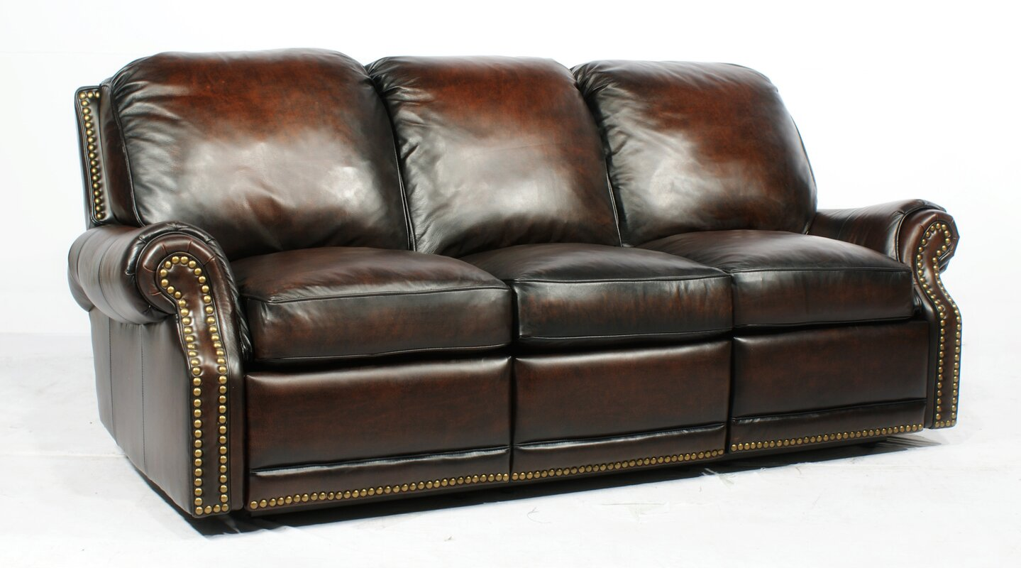 Merveilleux Premier Ll Leather Reclining Sofa