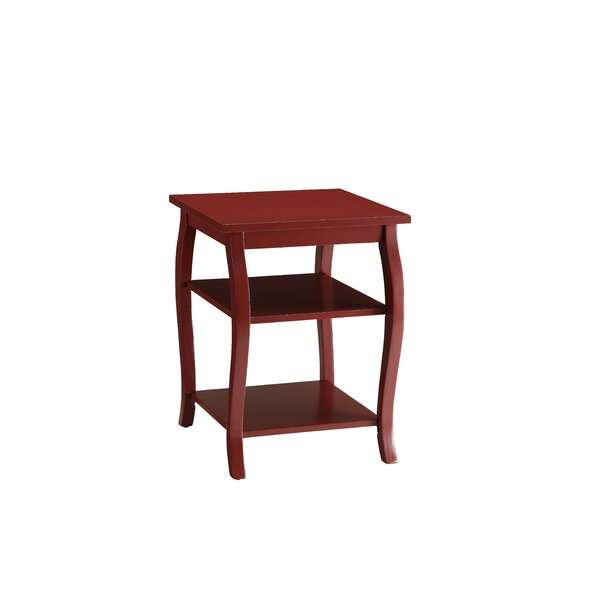 Rilo End Table by Charlton Home
