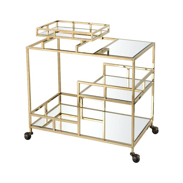 Poulan Bar Cart by Everly Quinn