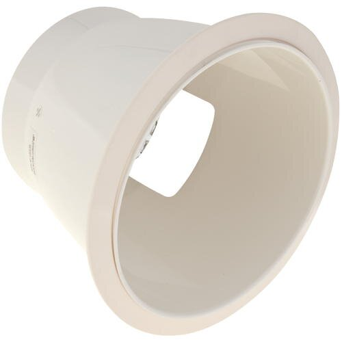 Anodized Reflector Horizontal Socket 8 Recessed Trim by Monument
