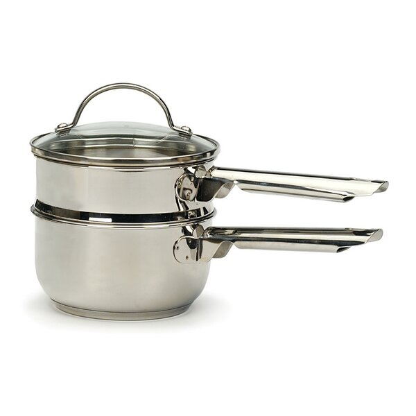 Endurance® 1 Qt. Induction Double Boiler with Lid by RSVP-INTL
