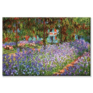 'Luncheon on the Grass' by Claude Monet Painting Print on Canvas by Buyenlarge