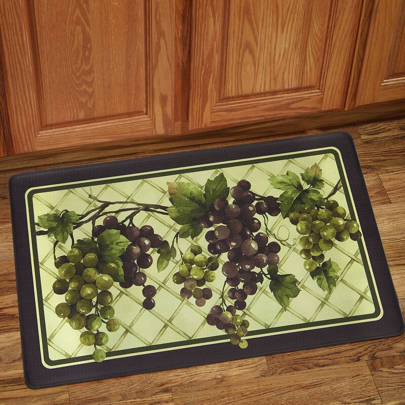 Grapes Tuscany Anti-Fatigue Kitchen Mat