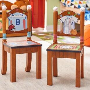 Little Sports Fan 2 Piece Kids Desk Chair Set ByFantasy Fields