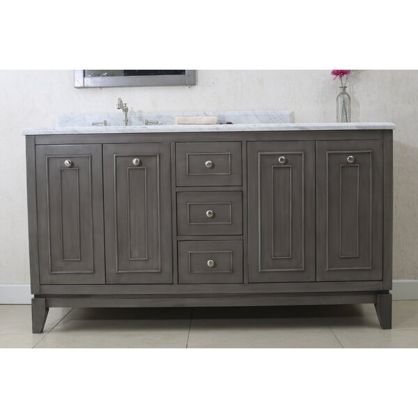 Luana 60 Double Bathroom Vanity Set by Gracie Oaks