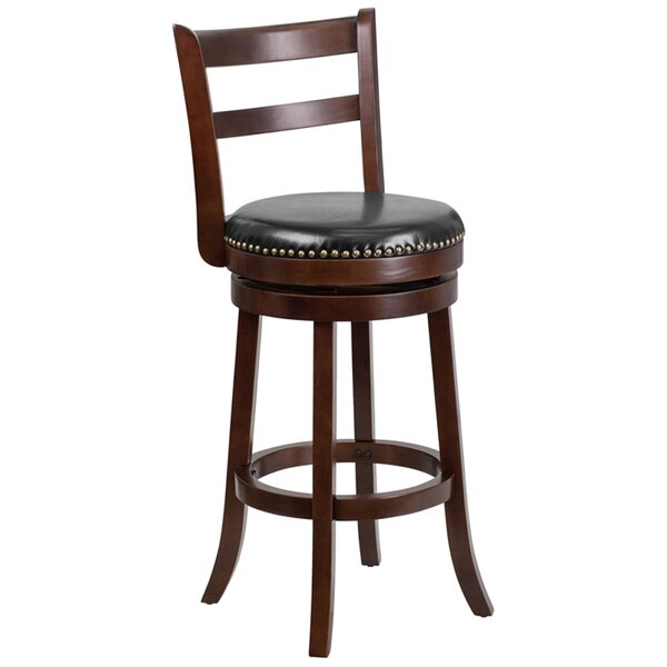 Eaves 30 Swivel Bar Stool by Darby Home Co