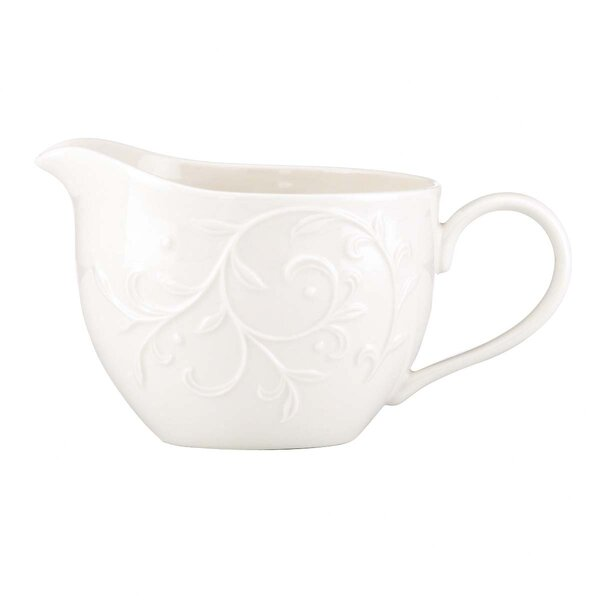 Opal Innocence Carved Gravy Boat by Lenox