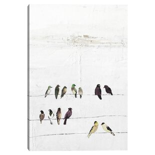 Bird Gallery Wrapped Canvas Wall Art You Ll Love In 2021 Wayfair