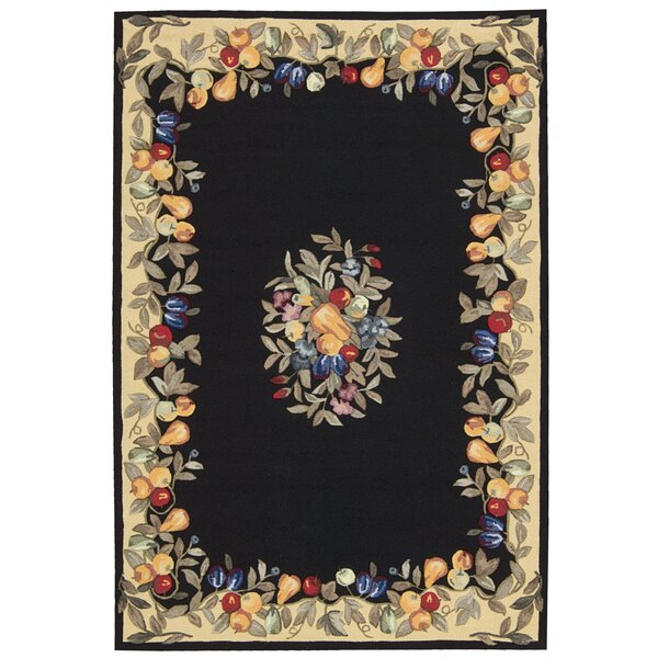 Westwood Black Area Rug by August Grove