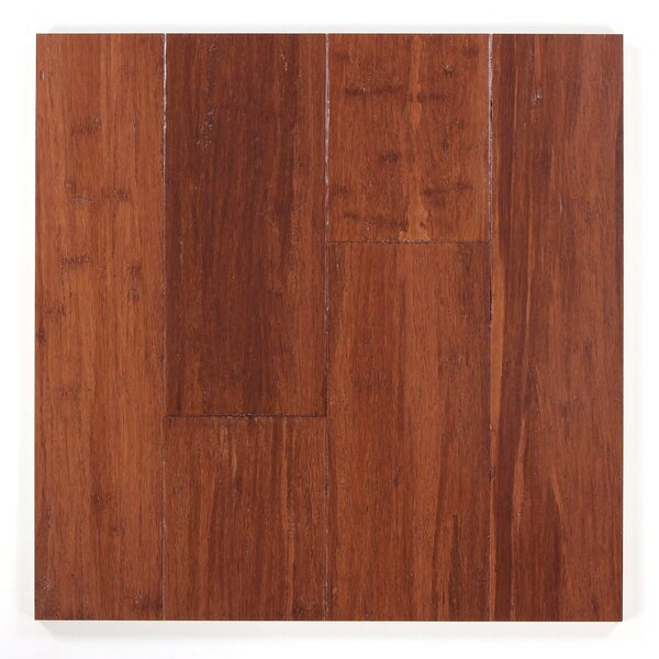 5 Engineered Bamboo  Flooring in Almond by Bamboo Hardwoods