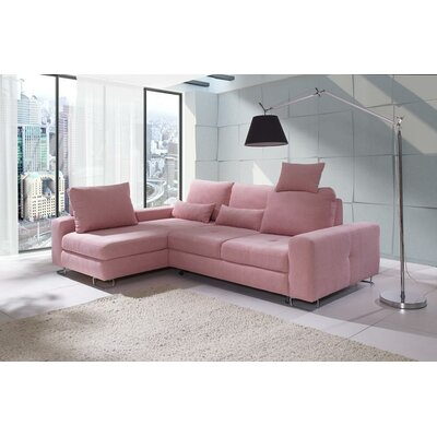 Karsten Corner Reversible Sleeper Sectional Brayden Studio