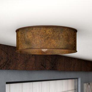 Bargain Vincent 3-Light Flush Mount ByTrent Austin Design