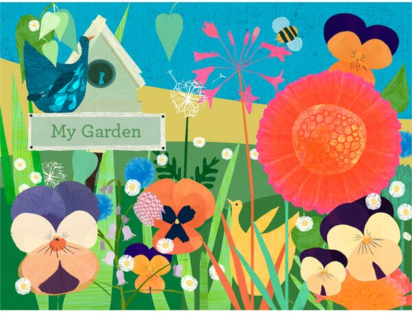 Garden Glory Canvas Art by Oopsy Daisy
