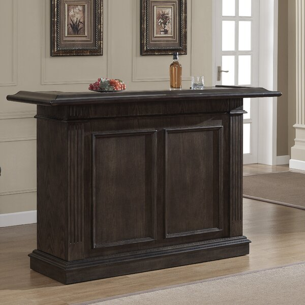 Valore Bar with Wine Storage by American Heritage American Heritage