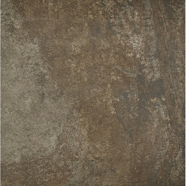 Slate Attaché 24 x 24 Porcelain Field Tile in Multi Green by Daltile