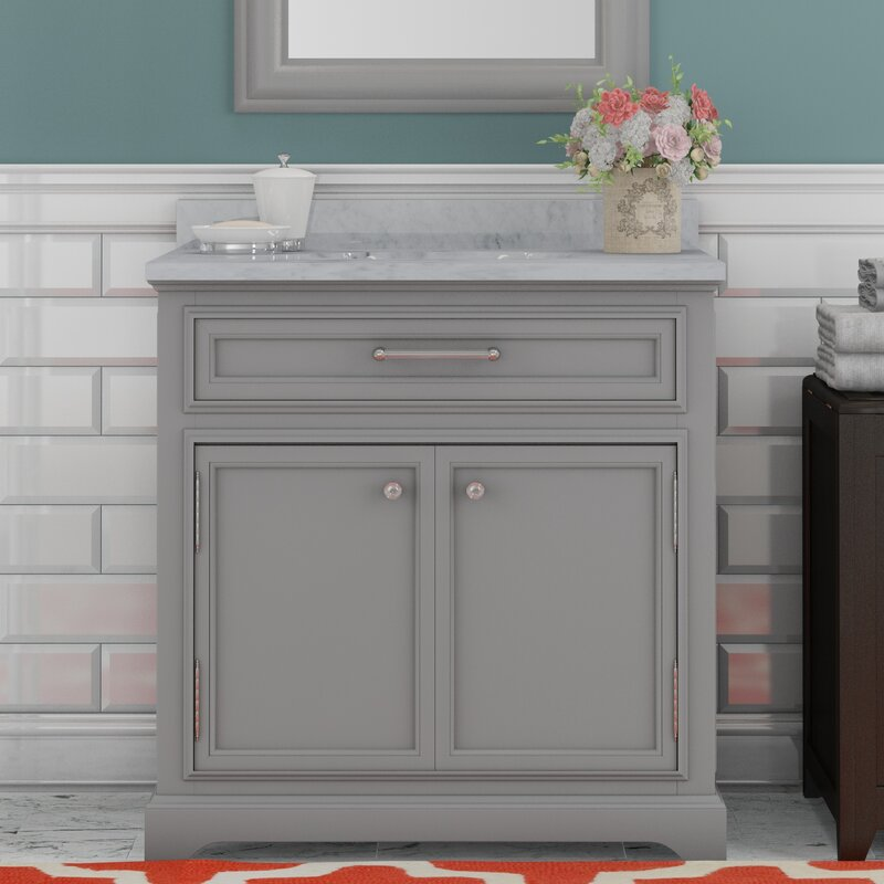 Colchester 30  Single Sink Bathroom Vanity Set Darby Home Co
