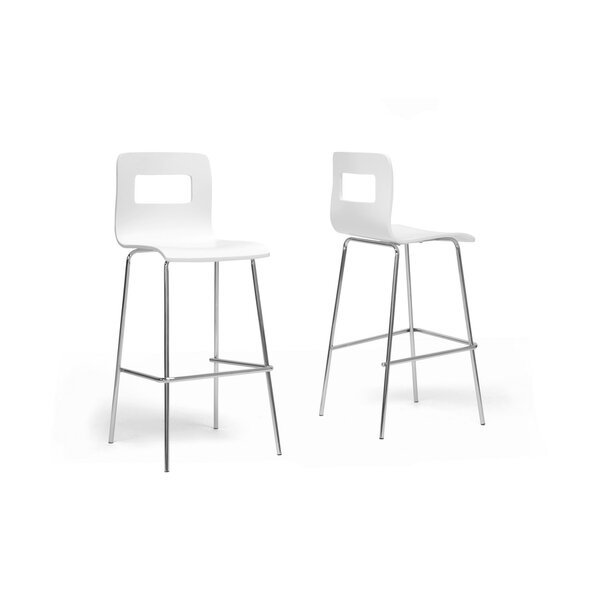 Baxton Studio 28.5 Bar Stool (Set of 2) by Wholesale Interiors