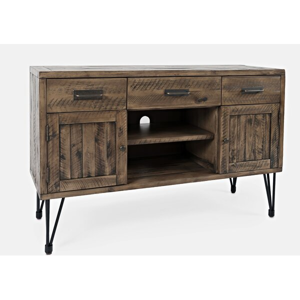 Randwick Solid Wood TV Stand For TVs Up To 55