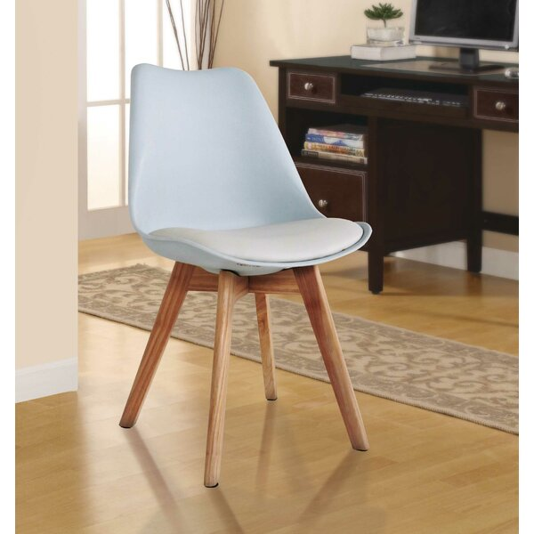 Ashley Solid Wood Upholstered Dining Chair by Langley Street