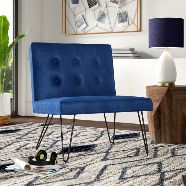 Lininger Slipper Chair by Mercury Row
