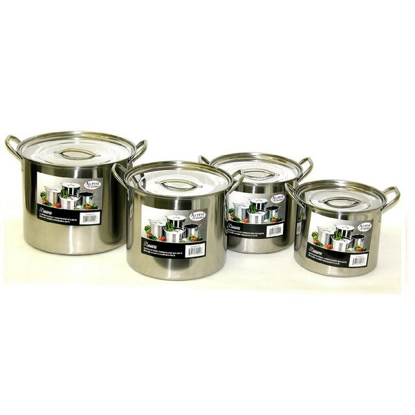 8-Piece Pot Set by Alpine Cuisine