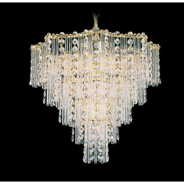 Jubilee 9-Light Crystal Chandelier by Schonbek