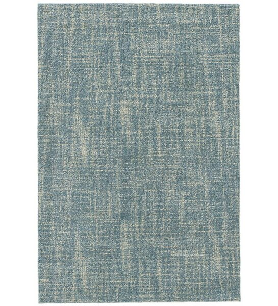 Crosshatch Blue Area Rug Swatch by Dash and Albert Rugs