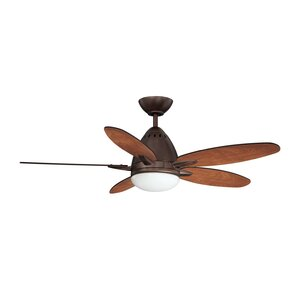 44″ Navaton 5-Blade Ceiling Fan with Wall Remote