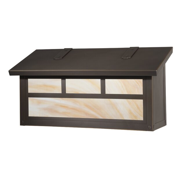 Double Wall Mounted Mailbox by America's Finest Lighting Company
