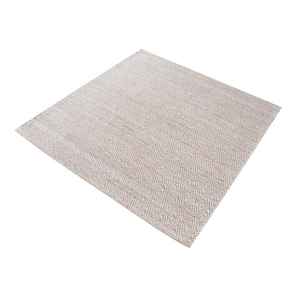Carnlough Hand-Woven Ivory/Beige Area Rug by Langley Street